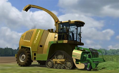 Mod Krone BigX 1100 Terra (MultiFruit)