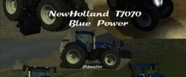New Hollande Blue Power