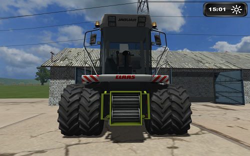 Mod CLAAS Jaguar 870 Dual Wheels