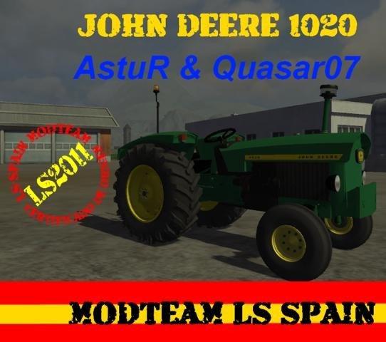 Mod John Deere 1020