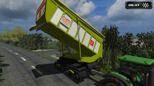 Mod Claas Bunker Shuttle Silage v 1.0