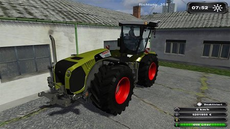 Mod Claas Xerion 5000
