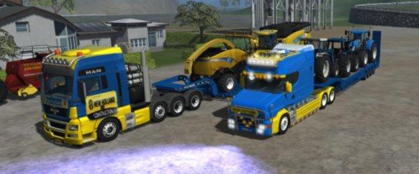 Mod New Holland truck pack