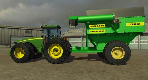 Mod John Deere 500 Grain Cart