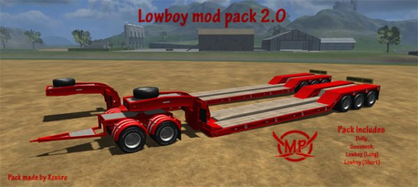 Mod Lowboy mod pack 2.0