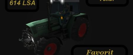 Mod Fendt Favorit 614 LSA Turbomatik