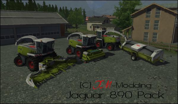 Claas Jaguar 890