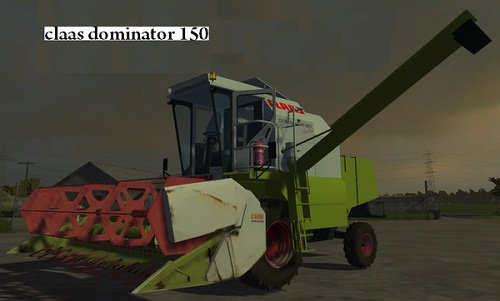claas dominator 150