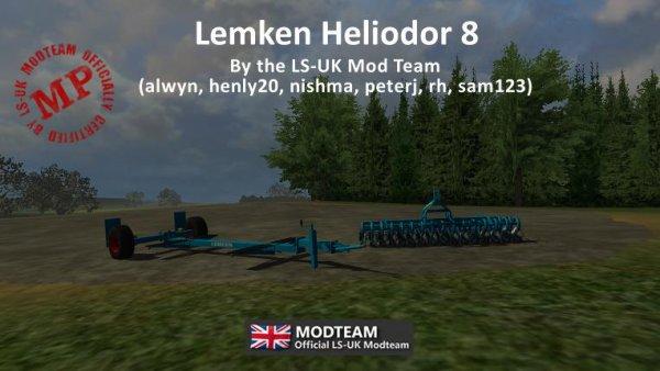 Mod Lemken Heliodor 8 + Trailer