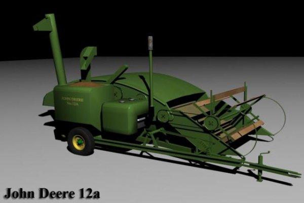 Mod John Deere 12a