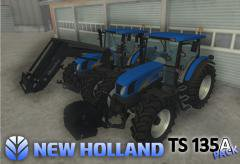 New holland tsa 135A PACK