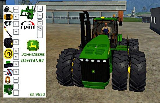 Mod John Deere 9630