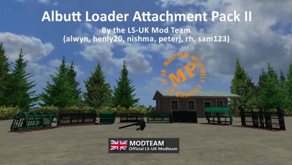 Albutt Loader Attachment Pack 2