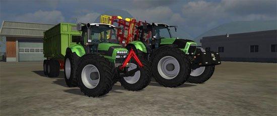 Deutz-Fahr Agrotron X720 et M620