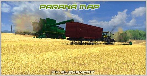 Paraná Map v1.0