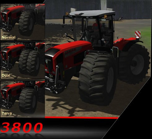Mod Claas Xerion 3800VC HDL