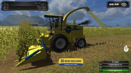Mod New Holland FX60