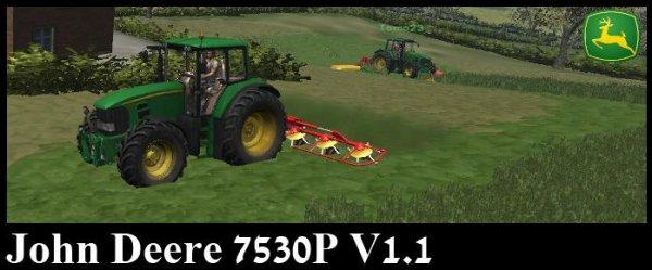 Mod John Deere 7530P V1.1