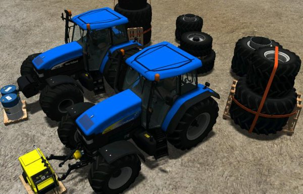 Mod New Holland TM175 and TM190 pack