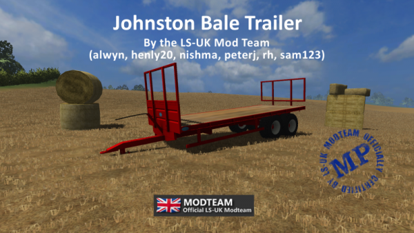 Johnston Bale Trailer