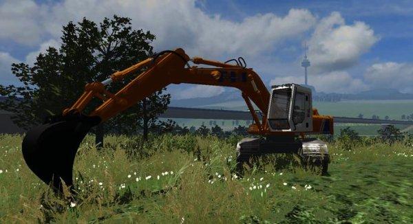 Mod Pelle HITACHI FH200 & Heavy transport