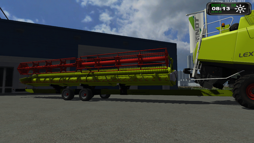 Mod AgroIndurain Claas trailer