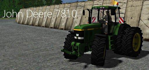 Mod John Deere 7810