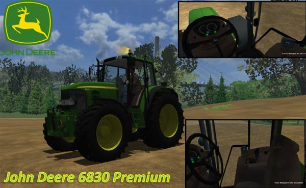 Mod John Deere 6830 Premium