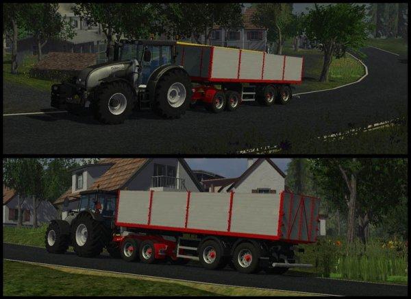 Mod Valtra T202 Black