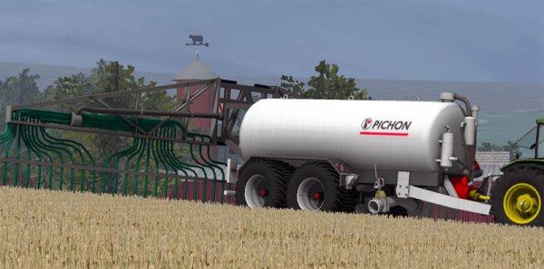 Mod Pichon 18.000L manure spreader