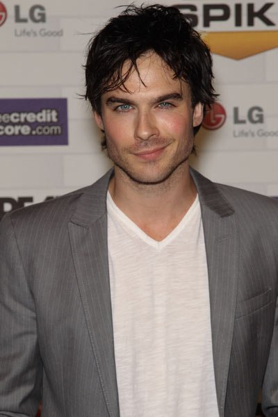Ian Somerhalder alias Damon Salvatove