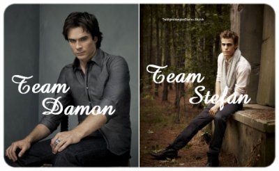 Team Damon team Stefan
