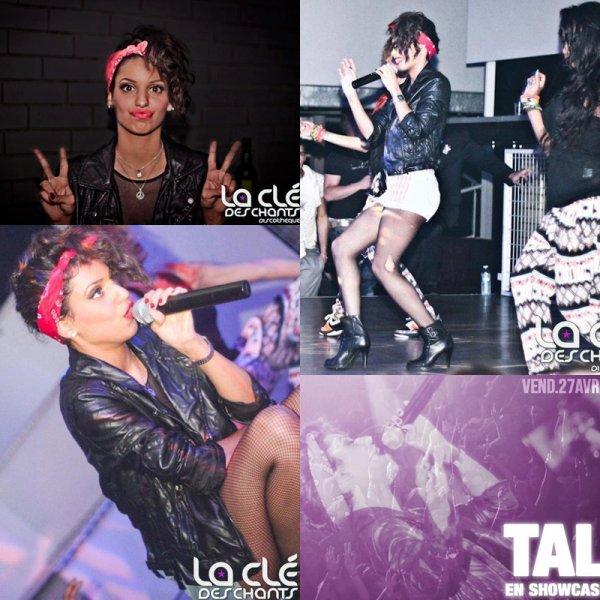 27.04.2012 - Tal a fait un showcase a la discothèque la clé des champs.