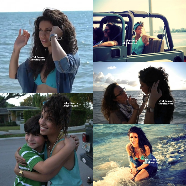"10.05.12 - Tal a Miami pour le clip ""Je prends le Large"" + Making Of"
