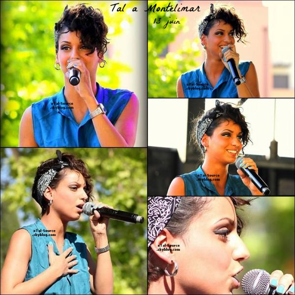 13/06/12 : Mercredi Tal était a Montélimar pour faire un concert Multi-Artiste avec la Radio MTI !