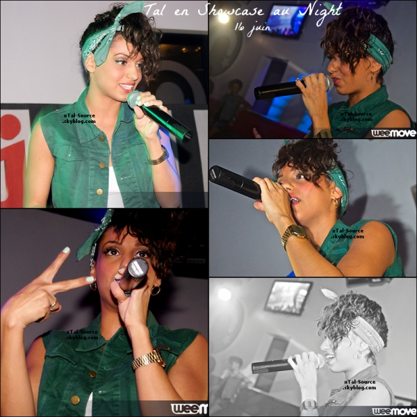 "16.06.12 : Tal en showcase a Metz au ""Le Night"""