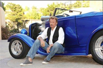 johnny et les voitures blog de johnny hallyday the best. Black Bedroom Furniture Sets. Home Design Ideas