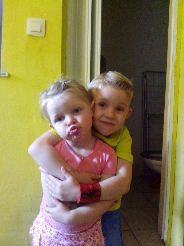 Mattieuw, Mélina & Tiélo mes amours de filleuls ♥.