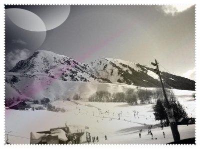 Fin du séjour au ski