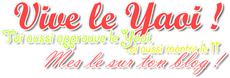 Vive le yaoi!