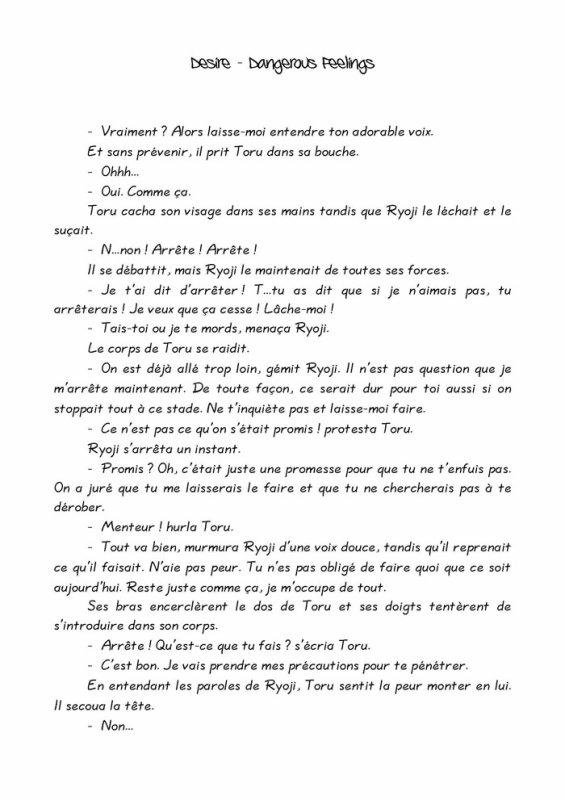 Désire- roman yaoi- n.4