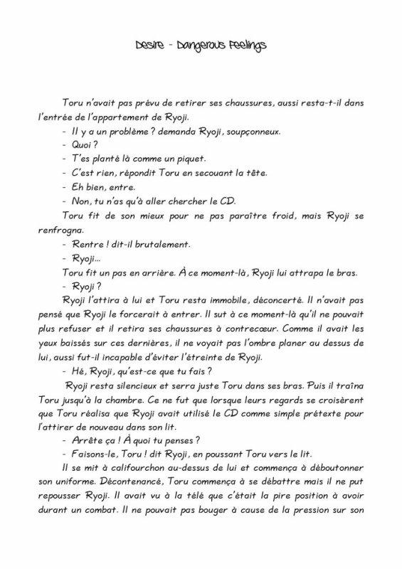 Désire- roman yaoi- n.5