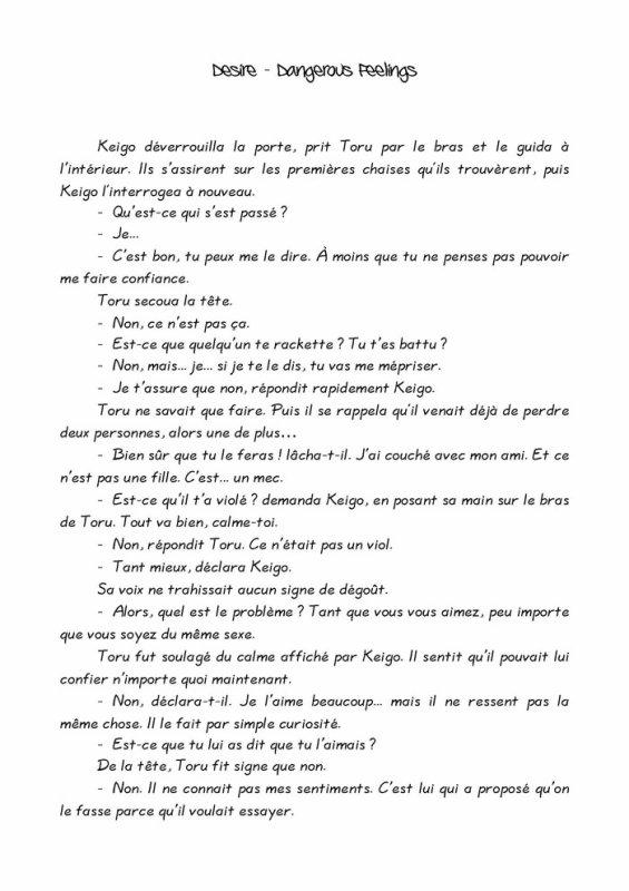 Désire- roman yaoi- n.6