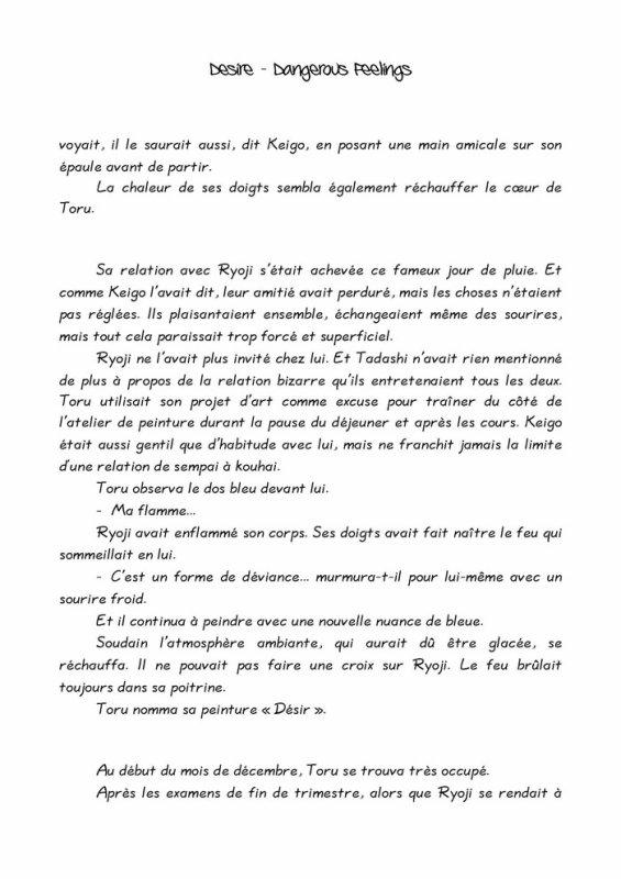 Désire- roman yaoi- n.8