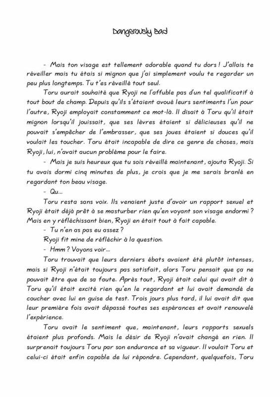 Désire- roman yaoi- n.9