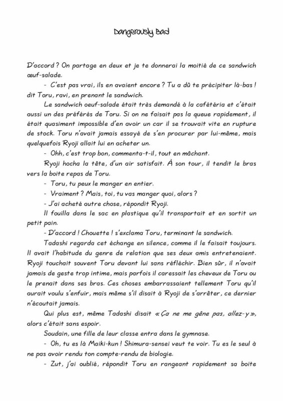 Désire- roman yaoi- n.10