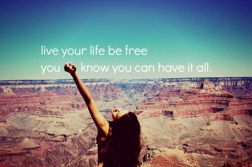 Be free baby ! :D