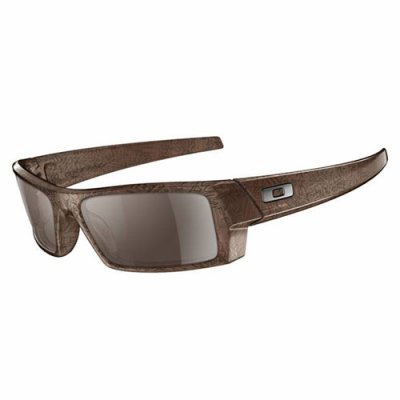 Oakley GASCAN S brown smoke text with tungsten iridium lens 99¤
