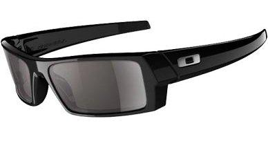 Oakley GASCAN S polished black with Warm grey lens 99¤ Dispo avec verres black iridium polarisants 149¤