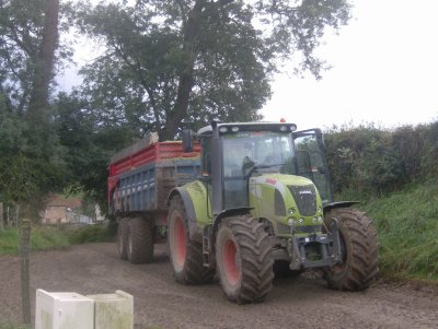 claas arion 630 c + RB 18 t